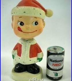 1950s Santa Claus Similar to Peko-chan Bobblehead doll Vintage Figure Toy71