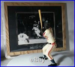 1958 1963 original vintage Hank Aaron Atlanta Braves Hartland statue figurine