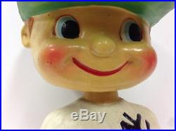 1960 NY New York Yankees Color Nodder Bobblehead Vintage Baseball Mlb Bobble
