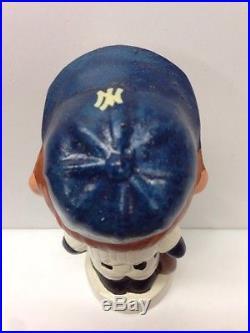 1960 NY New York Yankees Mini Nodder Bobblehead Vintage Baseball Mlb Bobble