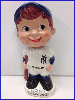 1960 NY New York Yankees Nodder Bobblehead Vintage Baseball Mlb Bobble Vintage