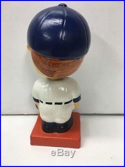 1960 Portland Beavers Pcl Color Base Nodder Bobblehead Vintage Baseball Bobble