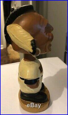 1960's Atlanta Braves Indian Mascot Bobble Head Nodder Baseball Vintage Japan