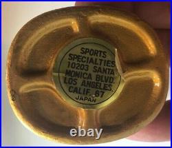 1960's CHICAGO CUBS MASCOT CUBBIE BEAR GOLD BASE VINTAGE NODDER BOBBLEHEAD