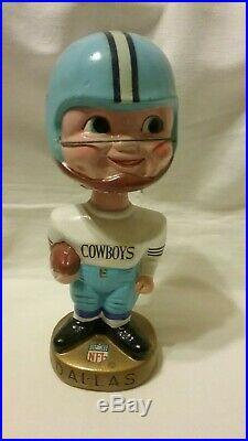1960's Dallas Cowboys Vintage Bobble Head NFL Nodder Japan RARE