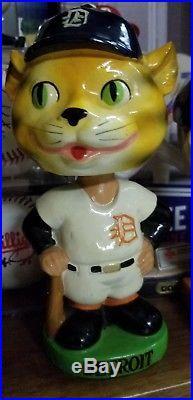 1960's Detroit Tigers Mascot Bobble Head Figure vintage rare