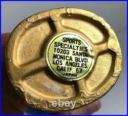 1960's MILWAUKEE BREWERS BOY FACE GOLD BASE VINTAGE NODDER BOBBLEHEAD EUC