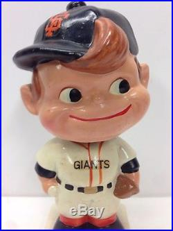 1960's San Francisco Giants Nodder Bobblehead Vintage Baseball Mlb Paper Mache