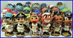 1960s VINTAGE DETROIT TIGERS GOLD BASE NODDER BOBBLEHEAD MLB