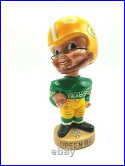 1960s Vintage AFL NFL Green Bay Packers Bobblehead (M1)