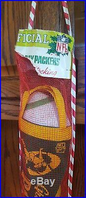 Green Bay Packers Christmas Stocking