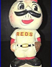 1961 1963 Vintage Cincinnati Reds Mini Nodder Bobblehead Rare