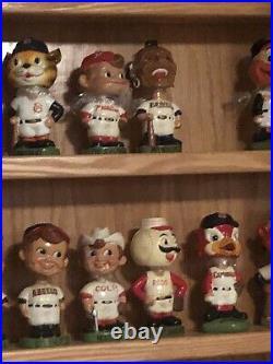 1961-63 Cleveland Indians Chief Wahoo Bobblehead Nodder White Base Vintage