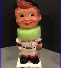 1961-63 Washington Senators Vintage Bobble Bobbing Head Doll Mint