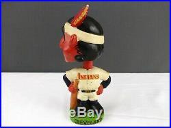 1962 Cleveland Indians Bobblehead Japan Vtg