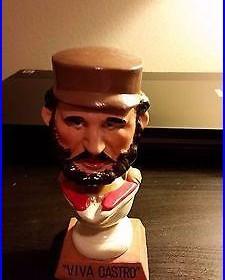 1962 Fidel Castro Bobblehead Vintage Cuba Viva Castro