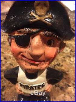 1962 Pittsburgh Pirates Very Rare Vintage Bobble Head Doll Nm Japan