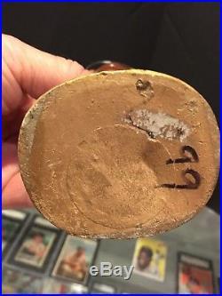 1965-67 Pittsburgh Steelers Vintage Gold Base Bobble Bobbing Head Doll Mint