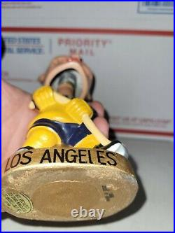 1968 Vintage Los Angeles Kings gold base hockey nodder Bobblehead bobble clean