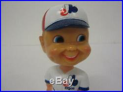 1974 Montreal Expos Nodder Bobblehead Vintage Baseball Goodman Bobble