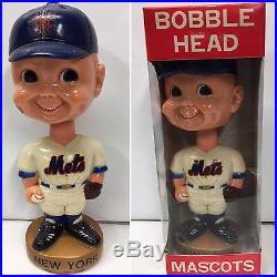 1974 NY New York Mets Nodder Bobblehead Vintage Baseball Goodman Bobble