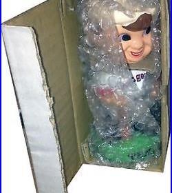 1983 Texas Rangers Vintage Bobble Head Doll Figure Green Base Bat MINT IN BOX