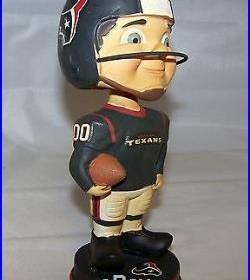 2013 Houston Texans Vintage Retro Look Bobblehead Doll