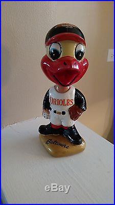 60s Baltimore Orioles Vintage Bobblehead