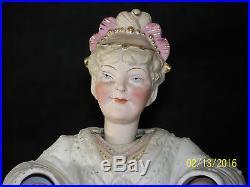 Antique Vintage Large Nodder Porcelain Weighted Bobble Head