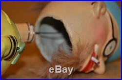 BOWLER & BALL BOBBLE HEAD DOLL NODDER BANK 50s LEGO JAPAN VINTAGE