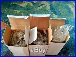BUFFALO BILLS Vintage BOBBLEHEADS Set Of 3 JIM KELLY Marv Levy FRED SMERLAS VG