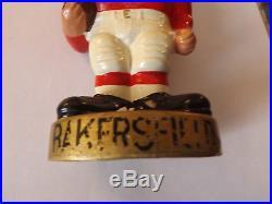 Bakersfield Gades Football Vintage Bobbing Head Doll Nodder! Hard to find