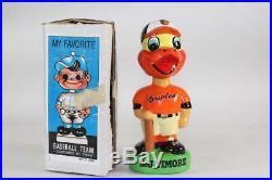 Baltimare Orioles Mascot Vintage Nodder-All original clean example Bobblehead