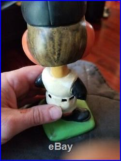 Baltimore orioles vintage green based bobblehead nodder 1960s