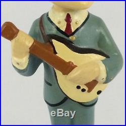 Beatles Paul McCartney Bobblehead Nodder 1963 Car Mascots Beatlemania VTG 60s