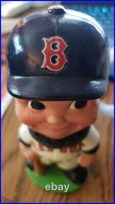 Boston Red Sox Vintage Bobble Head/Bobbing Head/Nodder Blue Hat Version Mint'63