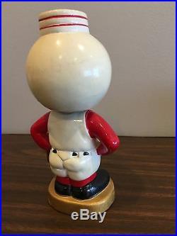 CINCINNATI REDS 1960's Vintage Gold base Bobblehead Nodder