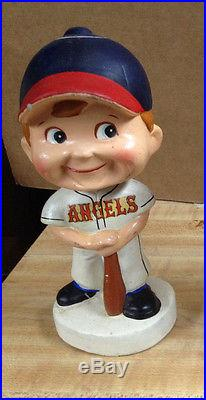California Angels Vintage Baseball Bobble Head BobbleHead Nodder Japan 1960 s