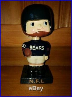 Chicago Bears 1960 Square Base Vintage Nodder/Bobbin Head/Bobbing Head GEM MINT