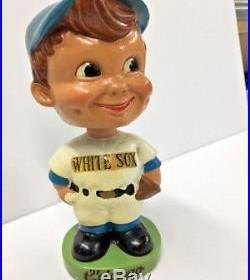 Chicago White Sox Bobblehead 1960s green base vintage baseball