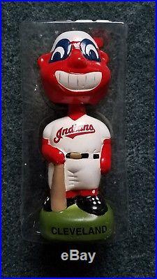 Chief Wahoo Cleveland Indians Bobblehead Vintage Twins Enterprises MLB Baseball