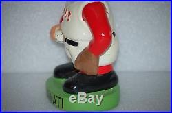 Cincinnati Reds Mascot Vintage Bobblehead Doll Nodder nice original condtion