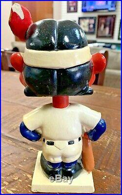 Cleveland Indians Bobbing Bobble Head 1960 Vintage Mlb Memorabilia Mint $600++