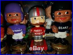 Detroit Lions 1960 Square Base Vintage Nodder/Bobbin Head/Bobbing Head Nice