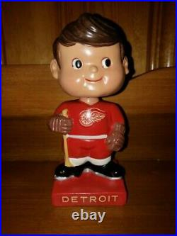 Detroit Red Wing Vintage Bobble Head/Bobbing Head/Nodder/ Standard Size Mint