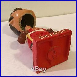 Detroit Red Wings Bobblehead Bobble Head Nodder 1962 Vintage Hockey Doll Old