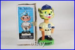 Detroit Tigers Mascot Vintage Nodder-All original clean example Bobblehead