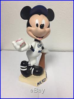 Disney's Mickey Mouse Bobblehead VINTAGE FIGURINE baseball RARE FIGURE LA