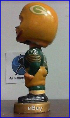 GREEN BAY PACKERS VINTAGE 1967 BOBBLEHEAD MADE IN JAPAN WithBOX