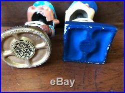Gold Base JAPAN Nodder Bobble Head vintage baseball Twins KC Royals 60s Lot X2